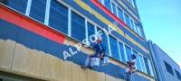 Боядисване на фасади халета, гр.София, кв.Илиянци, 5200м2