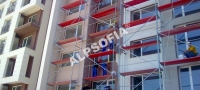 Топлоизолация на нова сграда, комплекс Тюлип, кв.Лагера - София